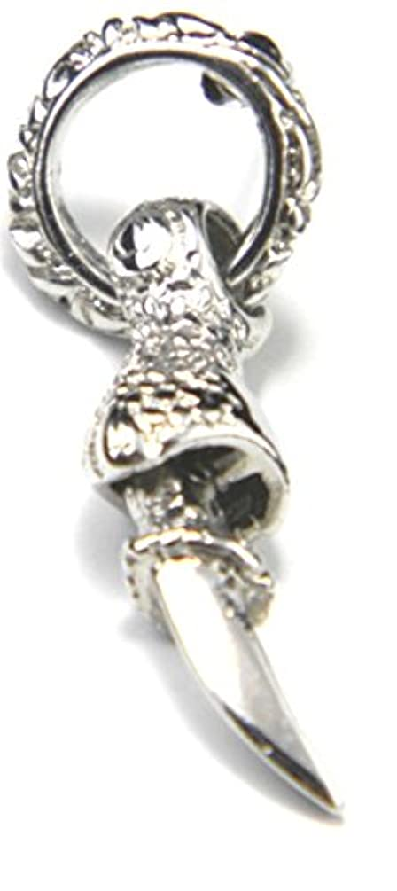 ルアー皮肉好奇心メンズピアス爪角さがり片耳用 牙/メンズ ロックファッション