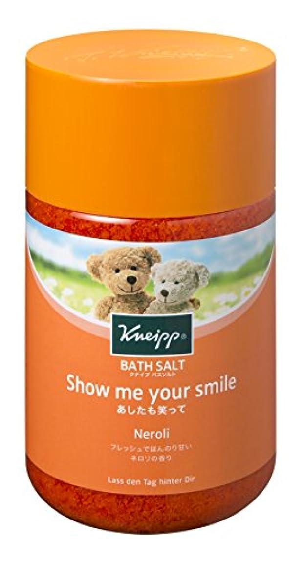 外側笑いクリエイティブクナイプ バスソルト ネロリの香り 850g