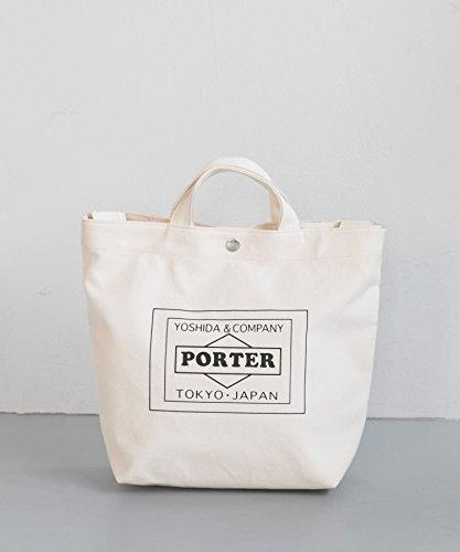 [アーバンリサーチ] 鞄 トートバッグ TRAVEL COUTURE by LOWERCASE キャンバストートバッグS メンズ OFF WHITE -
