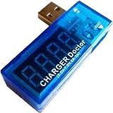 USB Power Meter  USB 電流/電圧チェッカー パソコンの電量チェック測定に EnlargeCorp