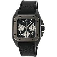 [カルティエ]サントス100 腕時計 ADLC/トワルドゥボワル/チタン メンズ (中古)