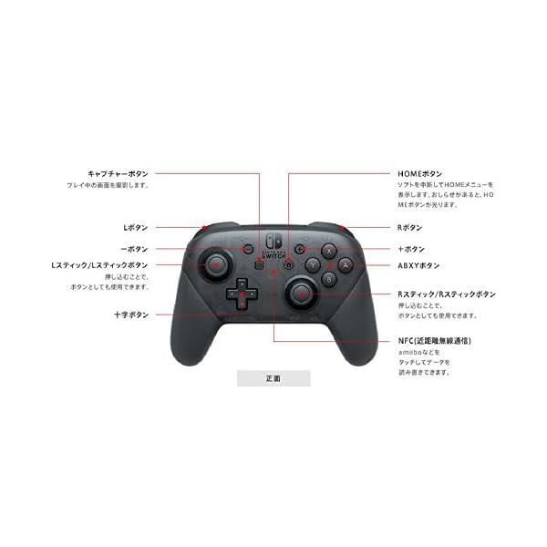 Nintendo Switch Proコントローラーの紹介画像3
