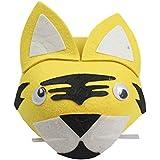 HuaQingPiJu-JP 子供の日のパフォーマンスファッションアクセサリー漫画動物帽子(虎)