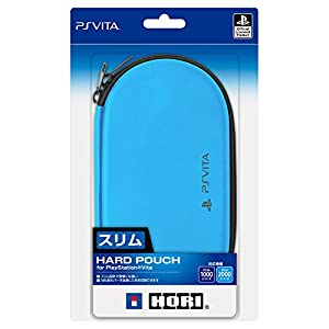 【PCH-1000、PCH-2000シリーズ対応】Newハードポーチ for PlayStationVita アクアブルー