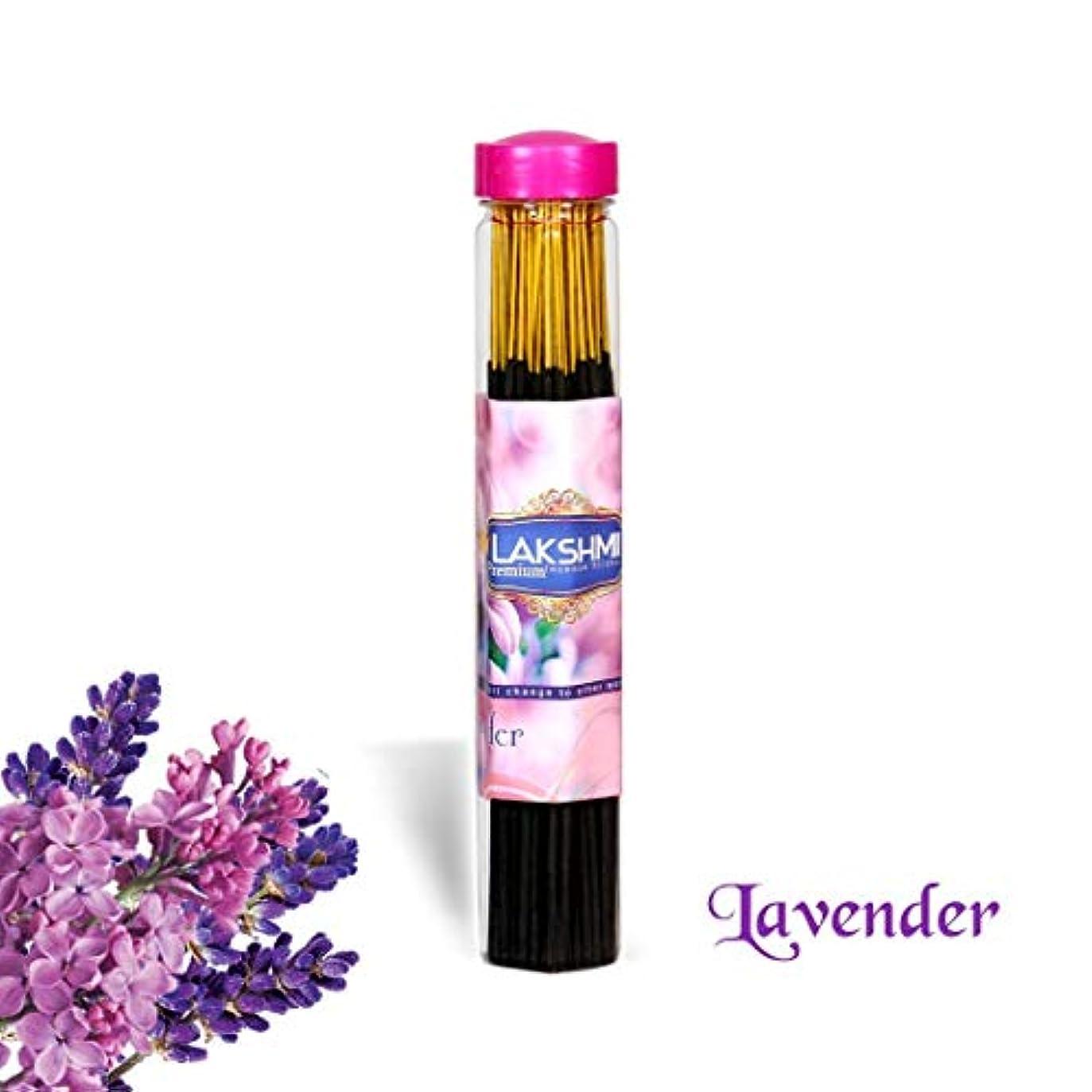 ピース夢受信Lavender Fragrance Pure Natural Agarbatti,Incense Sticks with 100 grms, Black 9