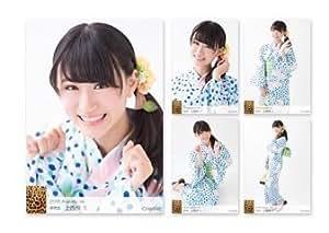 【上西怜】NMB48 個別生写真 5枚セット 2016 August