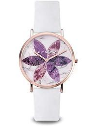 [アリーデノヴォ] ALLY DENOVO 腕時計 Lily Marble リリー マーブル 36mm RoseGold Perple/White レディース ウォッチ AF5019.3