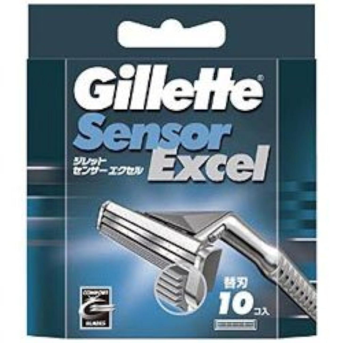 七時半僕のラジウム【P&G】ジレット センサーエクセル 専用替刃 10個入 ×3個セット