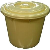 リス 『漬物容器』 漬物樽N5型 アイボリー