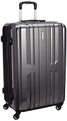 [ワールド トラベラー] World Traveler 【Amazon.co.jp限定】 ACEコラボ特別企画 スーツケース 69cm 86L ストッパー付 TSAロック搭載(ブラックカーボン)