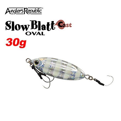アングラーズリパブリック スローブラット キャスト オーバル 30g