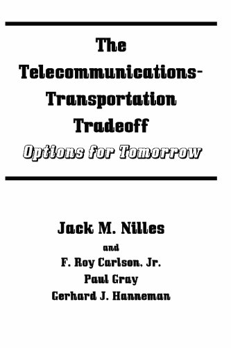 The Telecommunications-transportation Tradeoff: Options for Tomorrow