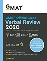 GMAT Official Guide Verbal Review 2020 [Paperback] Gmat