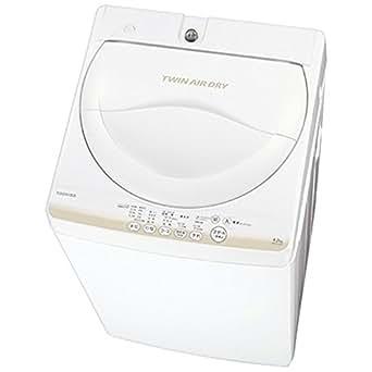 東芝 4.2kg 全自動洗濯機 グランホワイトTOSHIBA AW-4S2-W