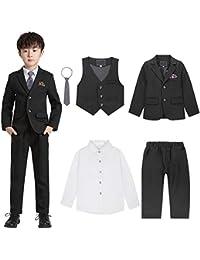 SANMIO 男の子 スーツ 5点セット 入学式 卒業式 結婚式 七五三 誕生日 フォーマル ボーイズ服