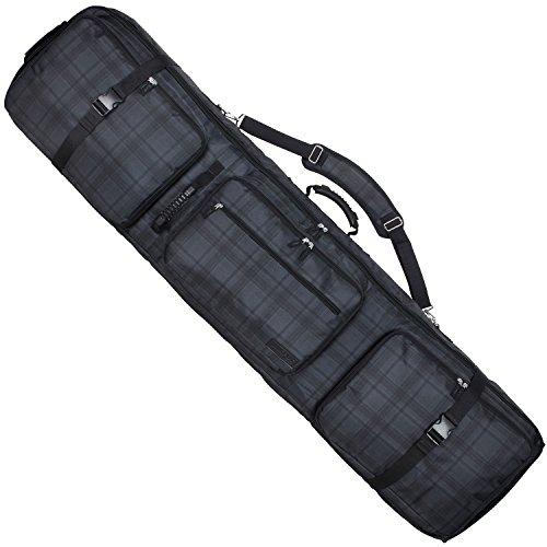 VAXPOT(バックスポット) スノーボードケース キャスター付き 大容量収納 4WAYタイプ 前面4ポケット CH-CHR ...