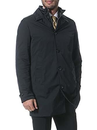 (バーバリーロンドン) BURBERRY LONDON ライナー付き 無地 ステンカラー コート [【BBTUNBRIDGE16AW】] ブラック / 3XL [並行輸入品]