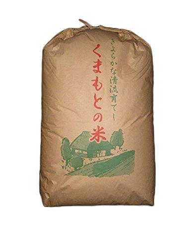 【精米】 熊本県産 白米 森のくまさん 27kg 平成29年...