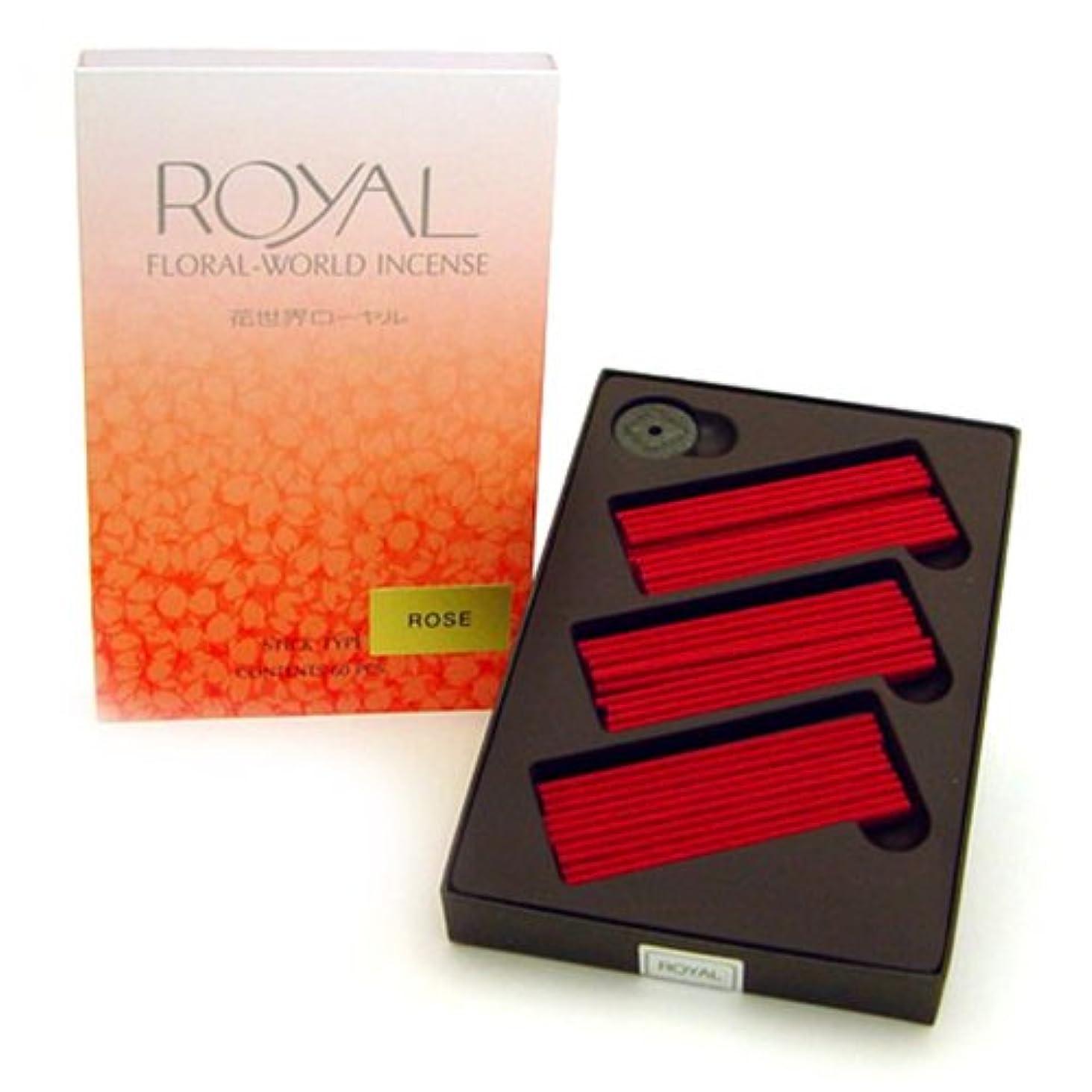 本当のことを言うと作成者誠意Shoyeido 's Rose Incense – のセット60 Sticks