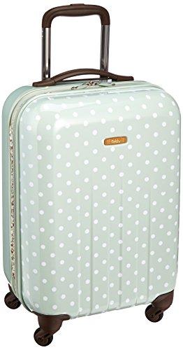 [ヒデオワカマツ] スーツケース ポルカハード 拡張機能付き ポリカーボネート100% 容量35L ...