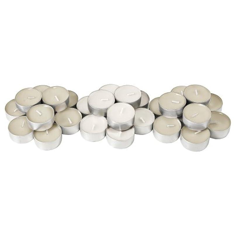 限られたおばさん奨学金IKEA SINNLIG 50237712 香り付ティーライト 38 mm バニラ ナチュラル 30 ピース