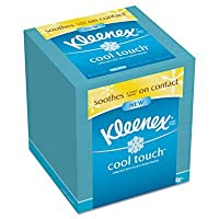 KIMBERLY-CLARK PROFESSIONAL* Cool Touch Facial Tissue, 3 Ply, 50 Sheets per Box, 1 per Box by Kimberly-Clark Professional