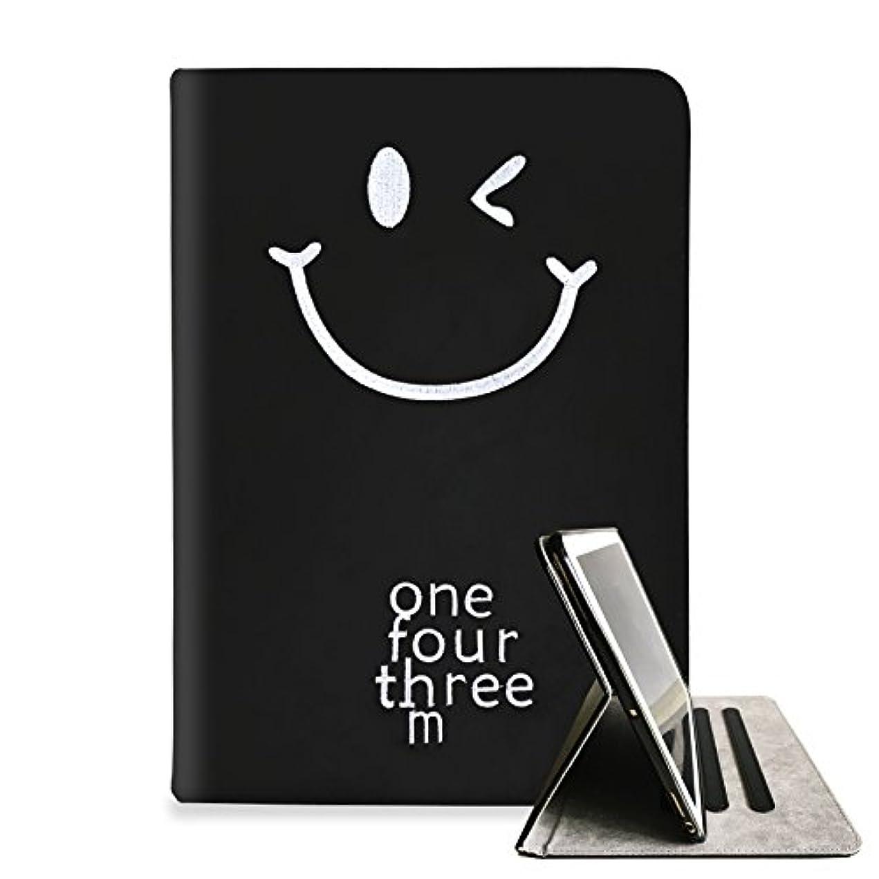 航空会社メディア数学者Super'Z 新型iPadケース スマートカバー アイパッドケース タブレットカバー 2018第六世代 2017第五世代 iPad 2018 第6世代 iPad 2017 第5世代 オートスリープ機能 スタンド付き ダイアリー 手帳型 ブックデザイン 刺繍 ししゅう スマイル 笑顔 smile ニコちゃん マーク ニコニコ マルチカラー フェイクレザー キャラクター 軽量 かわいい おしゃれ ビジュアル(モデル番号:A1822,A1823,A1893,A1954)