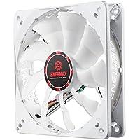 Enermax Cluster Advance APS 120mm Case Fan Cooling, White UCCLA12P [並行輸入品]