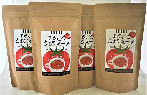インスタントスープ トマトスープ 14食入り ×4個セット 北海道 まるごとトマトスープ 14袋入り