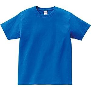 (プリントスター) Printstar 5.6oz ヘビーウェイトTシャツ(KIDS) 00085-CVT 00085-K 198 ミディアムブルー 120cm