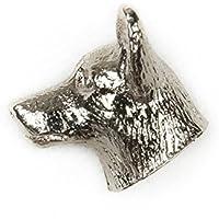 ランカシャーヒーラー イギリス製 アート ドッグ ピンバッジ コレクション