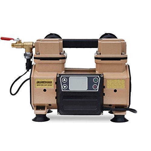 HAIGE エアーコンプレッサー 静音 100V タンクレス ...