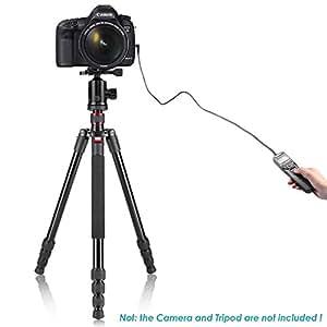 電子レリーズ、タイマーリモートコントローラー クリップホルダー・携行ケースセットCANON-KISS,EOS60D PENTAX用 TM‐C
