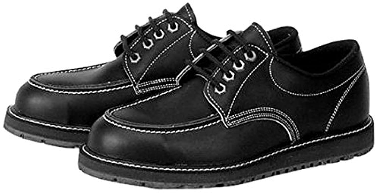 青木産業 安全靴 USアメリカン ローカット 黒 US-100BK 24.5CM