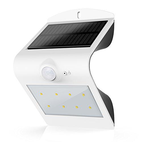 HonestEast ソーラーライト 人感センサー付き 屋外照明/防犯照明などに対応   夜間自動点灯
