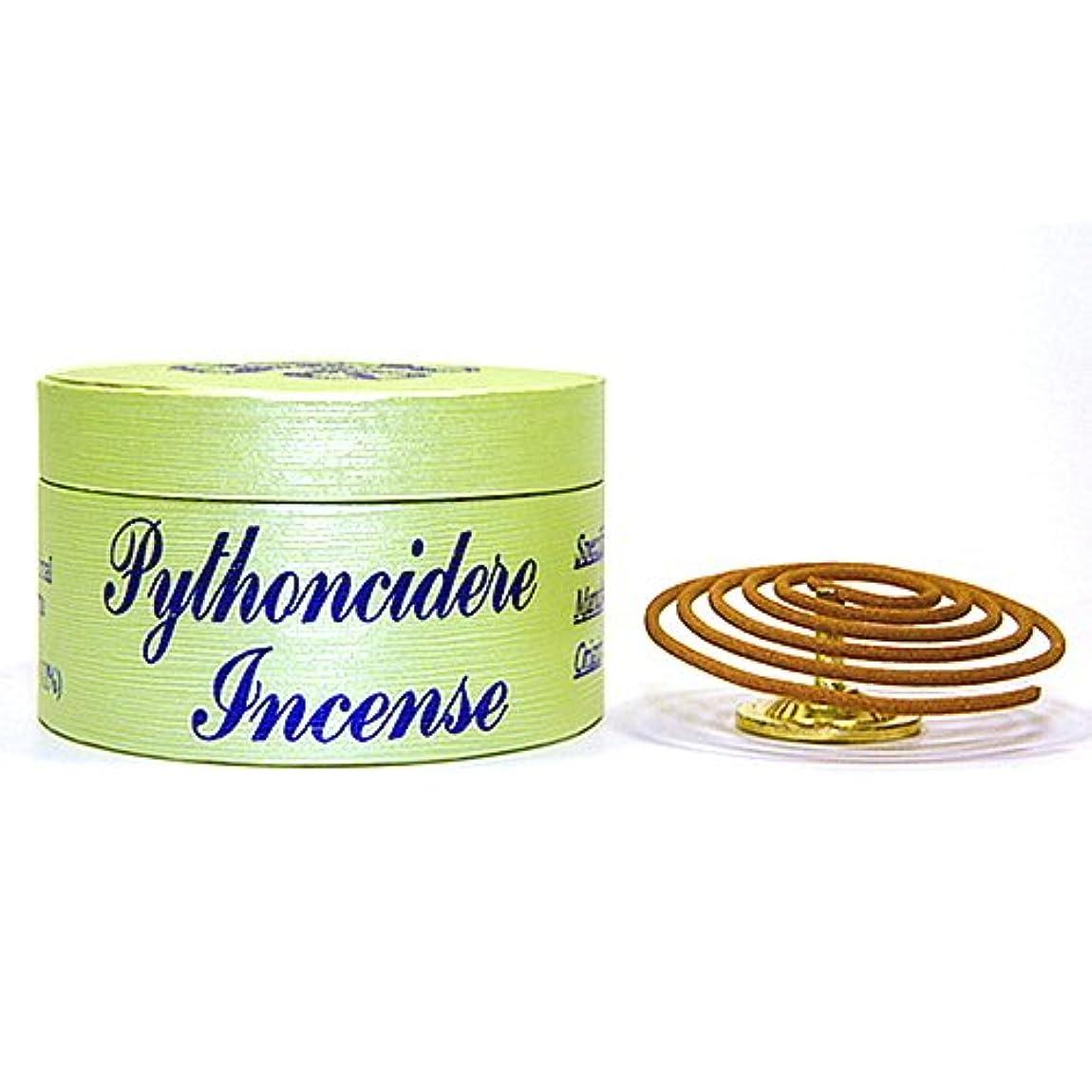 強風ベーコン信頼性のあるPythoncidere Incense – 24 Pieces 4-hourコイル – 100 % Natural – d004s