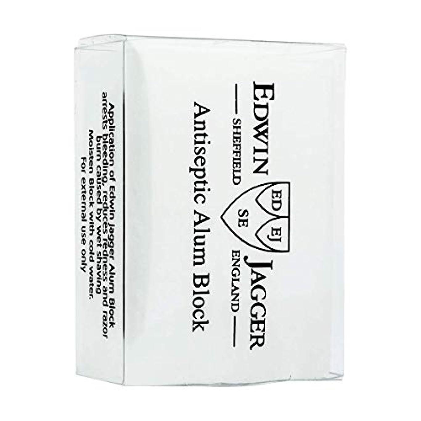 うまれた繊毛気分が良いエドウィンジャガー アンチセプティック ミョウバンブロック54g[海外直送品]Edwin Jagger Antiseptic Alum Block 54g [並行輸入品]