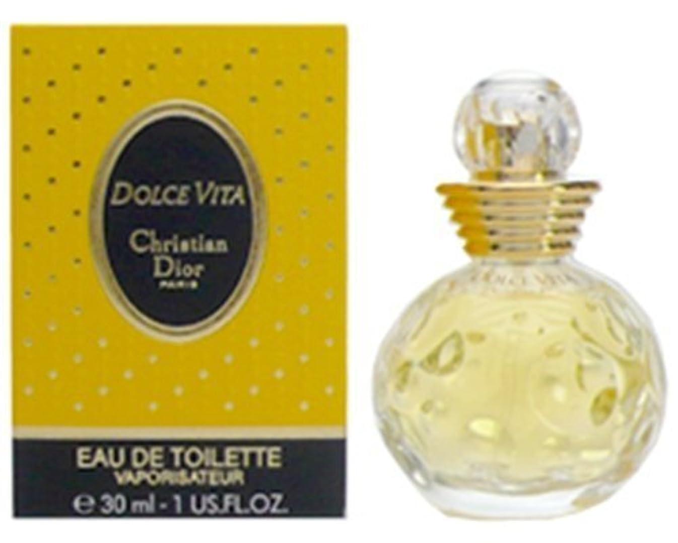 タイムリーなおめでとうフィードオンクリスチャンディオール 香水 ドルチェヴィータ EDT SP 30ml 【並行輸入品】