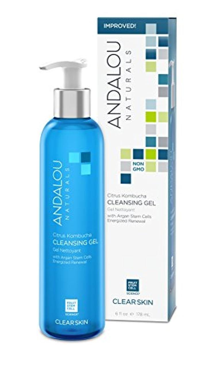オーガニック ボタニカル 洗顔料 クレンジング ナチュラル フルーツ幹細胞 「 CK クレンジングジェル 」 ANDALOU naturals アンダルー ナチュラルズ
