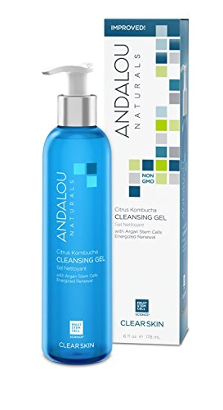 許されるエキゾチック欲しいですオーガニック ボタニカル 洗顔料 クレンジング ナチュラル フルーツ幹細胞 「 CK クレンジングジェル 」 ANDALOU naturals アンダルー ナチュラルズ