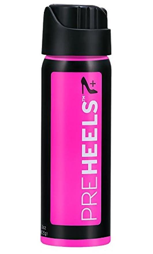 姿勢吸収する舌なプレヒールズ Pre Heels (新配合) 靴擦れ 防止スプレー