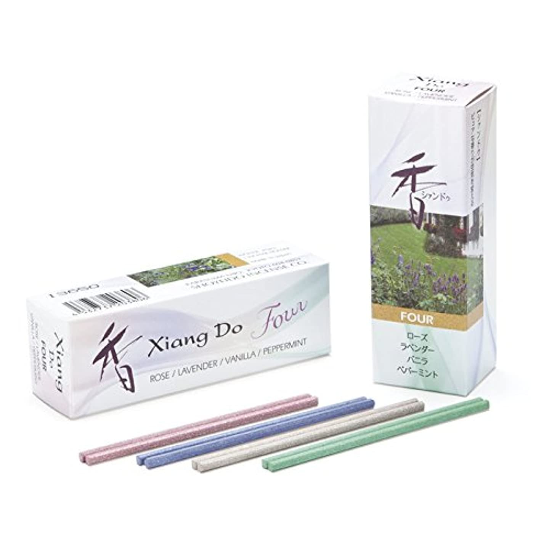 に関して太鼓腹パネルXiang Do Four シャン ドゥ フォー スティック 20本入 (4種各5本) 簡易香立付 日本製