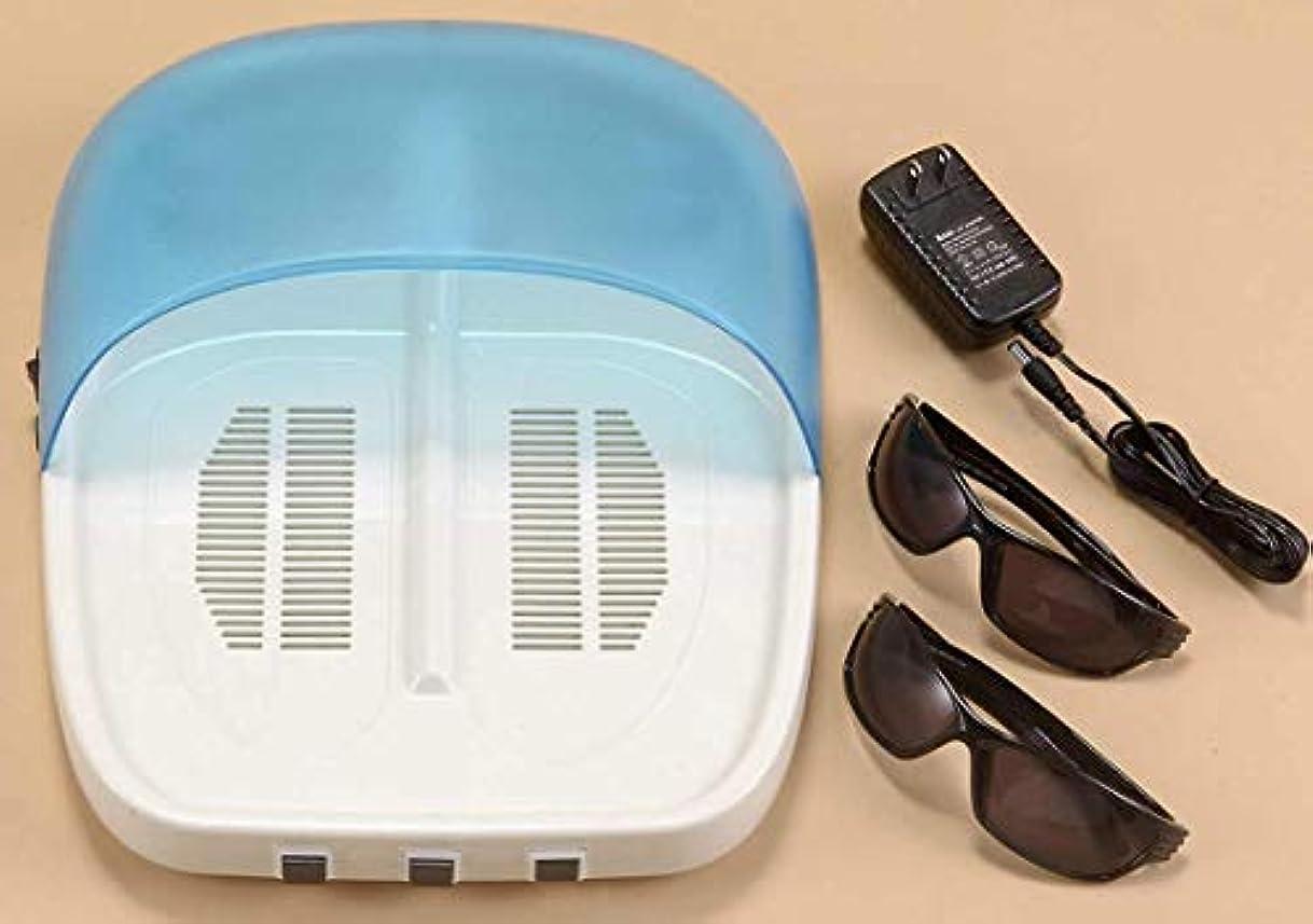 実施する開発施し【紫外線治療器 NEW UVフットケア 水虫治療器 両足】 NEW UVフットケア 家庭用紫外線治療器 CUV-5(B482)