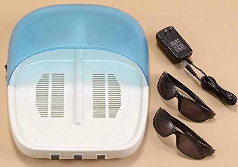 行進かんたん楽な【紫外線治療器 NEW UVフットケア 水虫治療器 両足】 NEW UVフットケア 家庭用紫外線治療器 CUV-5(B482)