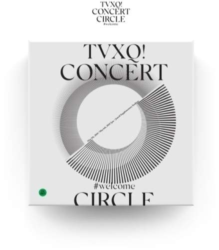 TVXQ! CONCERT -CIRCLE- #WELCOME (2 DVDs incl. Photobook + 4Photocards)