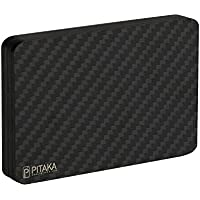 PITAKA Minimalist Carbon Magnetic Modular Card Holder Slim Rfid Blocking Wallet