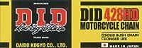D.I.D(大同工業)バイク用チェーン クリップジョイント付属 428H(D)-150RB STEEL(スチール) 強化チェーン 二輪 オートバイ用