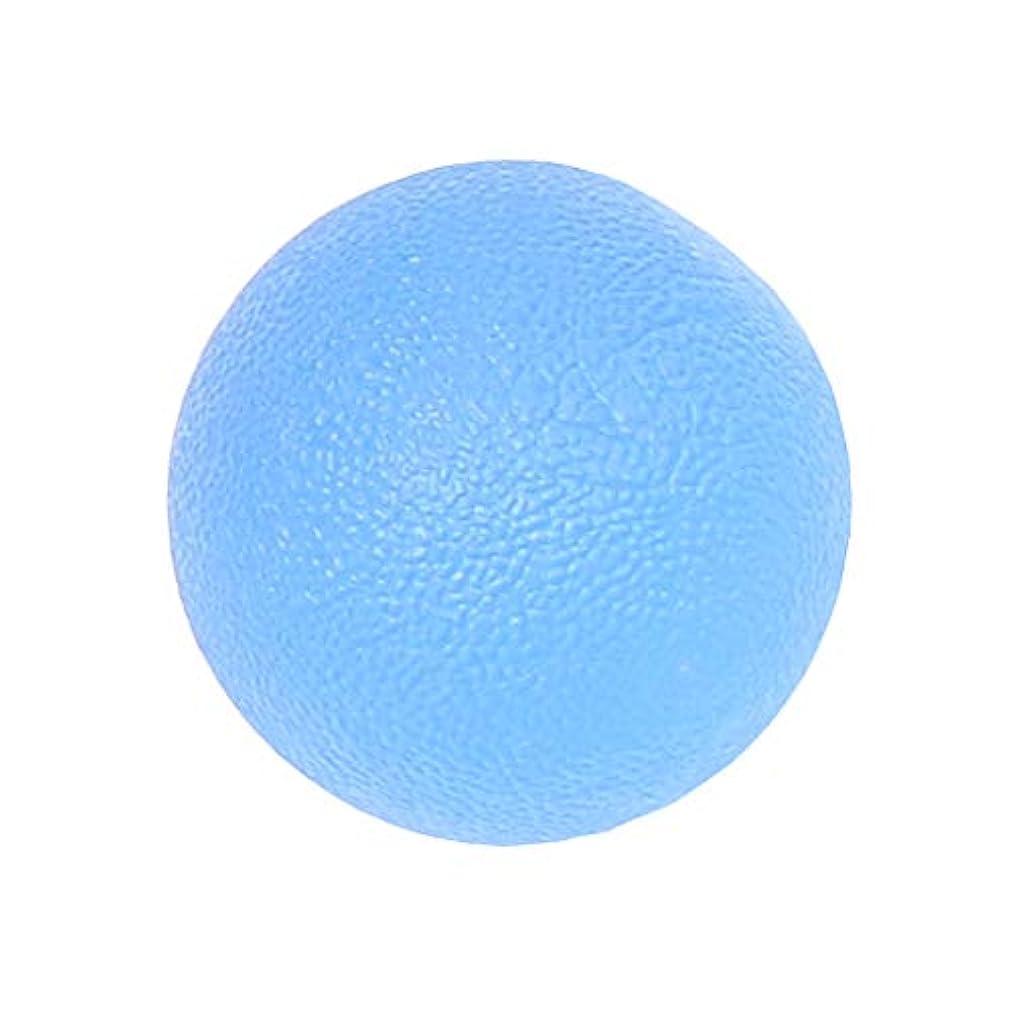 ライオン潜在的な横dailymall ポータブルシリコンハンドマッサージボールジョイントの痛みとグリップホームオフィスの強化 - 青, 5cm