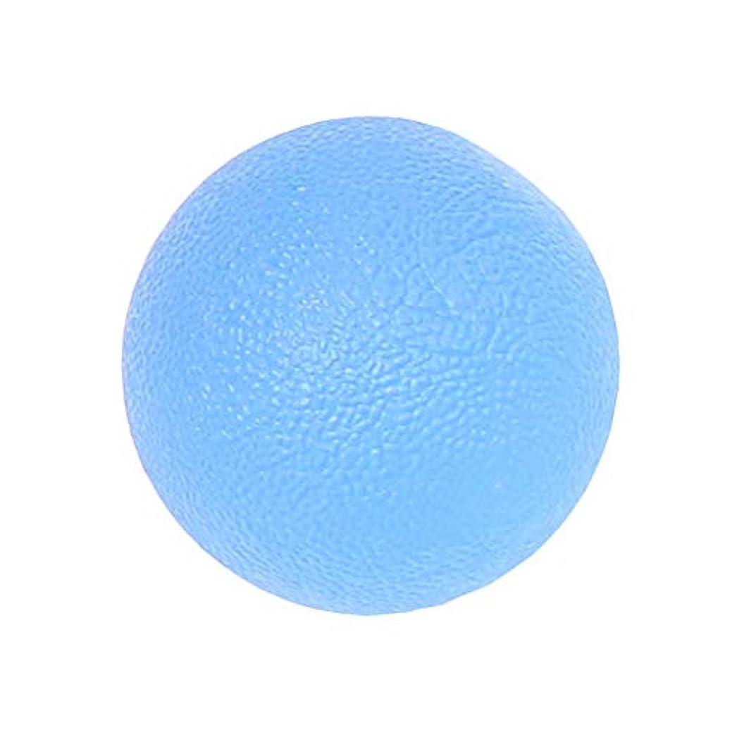 あたりトラフィック広告主dailymall ポータブルシリコンハンドマッサージボールジョイントの痛みとグリップホームオフィスの強化 - 青, 5cm