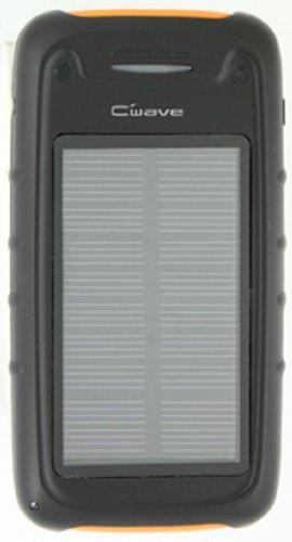 コロナ電業 C-Wave 【太陽光でエコ充電】 ソーラー充電対応リチウムポリマーバッテリー <LEDライト搭載> Li-S2800